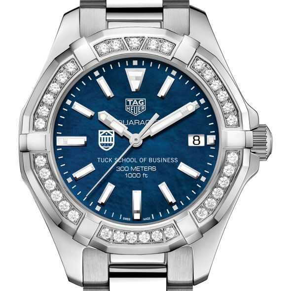 Tuck Women's TAG Heuer 35mm Steel Aquaracer with Blue Dial