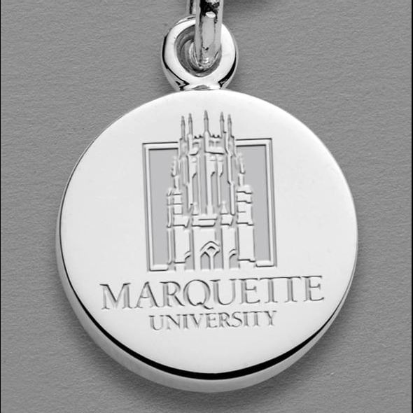 Marquette Sterling Silver Charm - Image 1