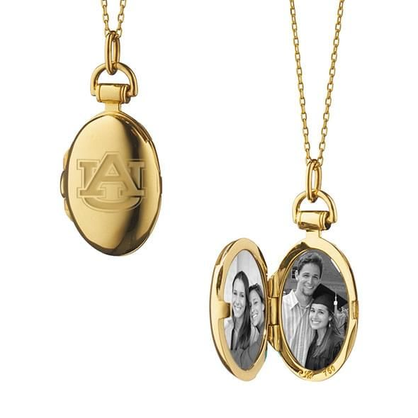 Auburn Monica Rich Kosann Petite Locket in Gold - Image 2