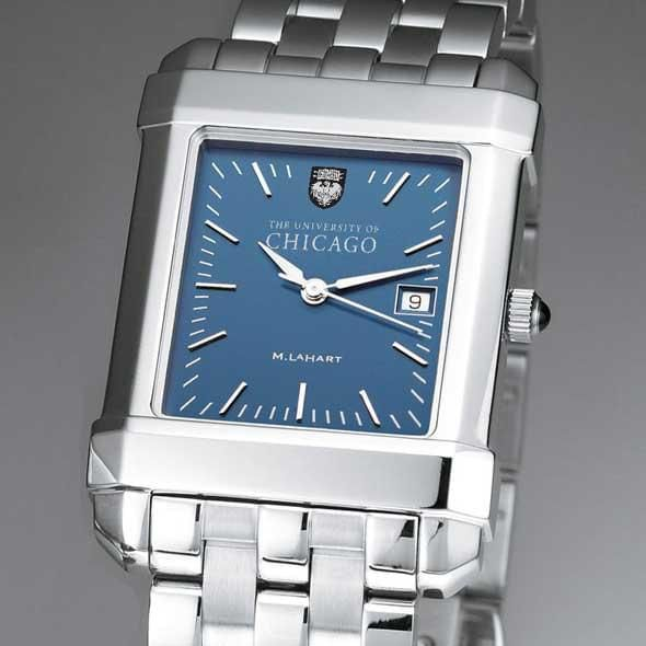 Chicago Men's Blue Quad Watch with Bracelet