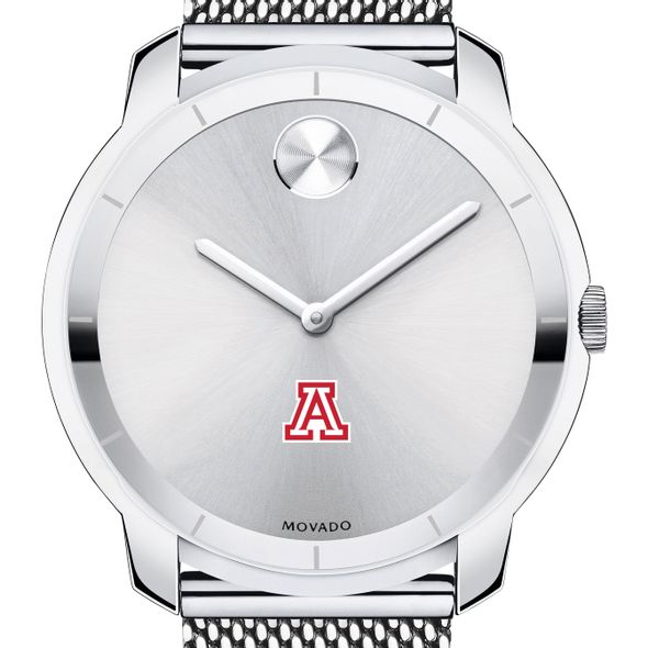 University of Arizona Men's Movado Stainless Bold 44