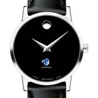 Seton Hall Women's Movado Museum with Leather Strap