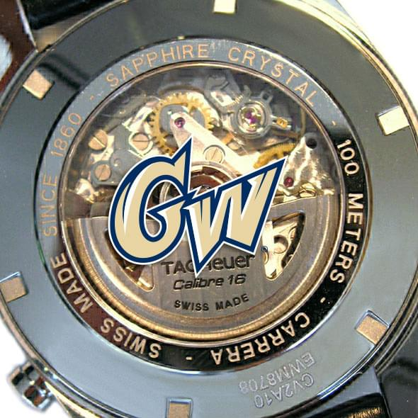 George Washington Men's TAG Heuer Carrera Tachymeter - Image 2