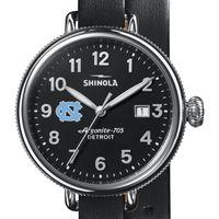 UNC Shinola Watch, The Birdy 38mm Black Dial