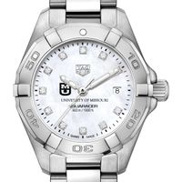 Missouri Women's TAG Heuer Steel Aquaracer with MOP Diamond Dial