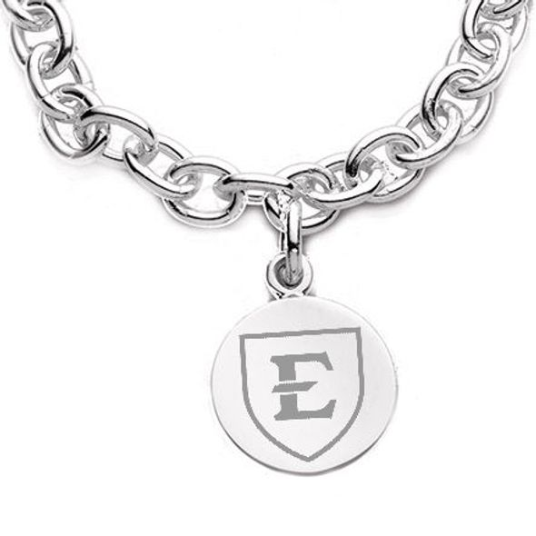 East Tennessee State University Sterling Silver Charm Bracelet - Image 2