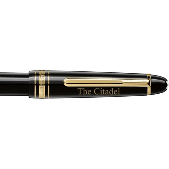 Citadel Montblanc Meisterstück Classique Fountain Pen in Gold - Image 2