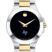 USAFA Women's Movado Collection Two-Tone Watch with Black Dial