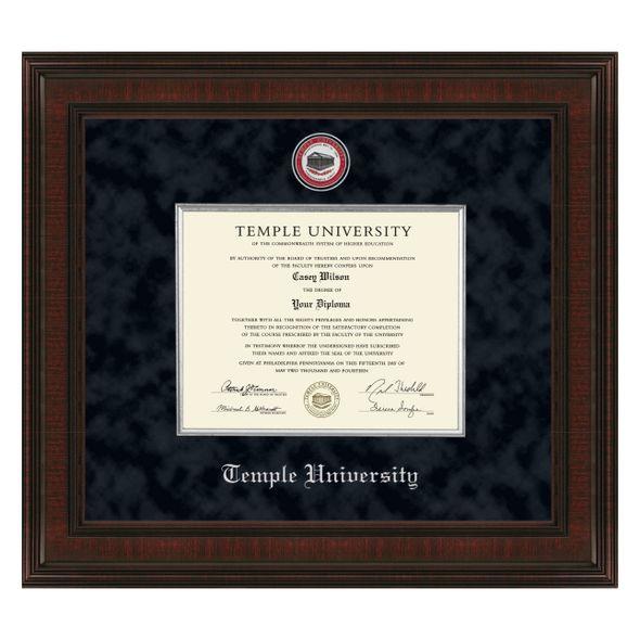Temple Diploma Frame - Excelsior