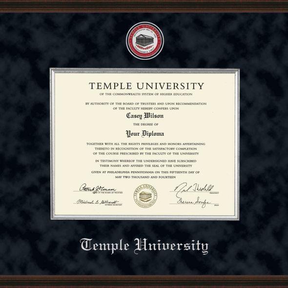 Temple Diploma Frame - Excelsior - Image 2