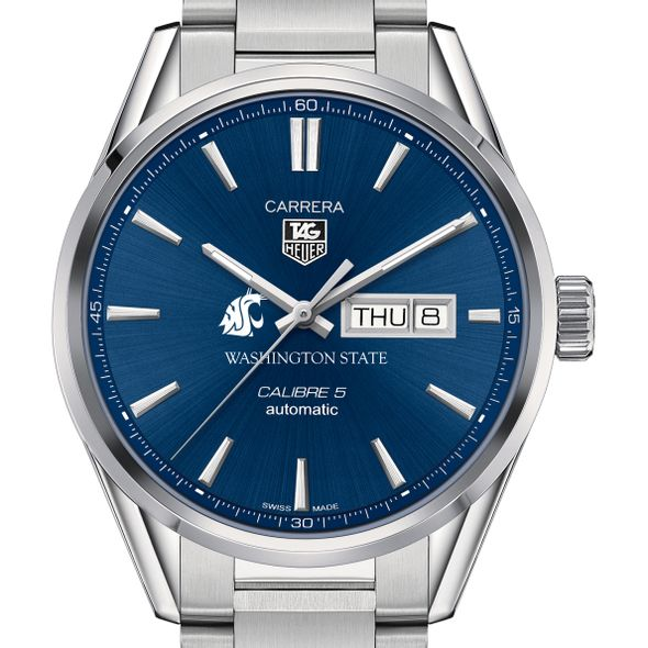 Washington State University Men's TAG Heuer Carrera with Day-Date