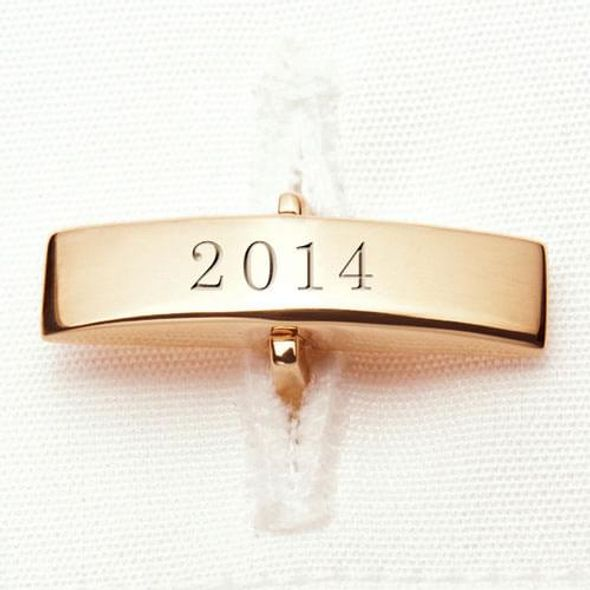 NYU Stern 18K Gold Cufflinks - Image 3