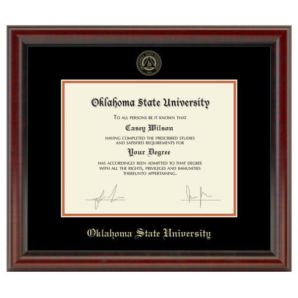 Oklahoma State University Diploma Frame, the Fidelitas