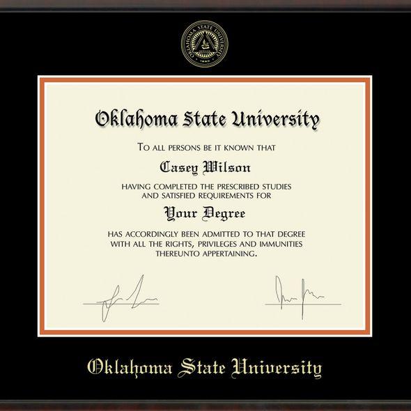 Oklahoma State University Diploma Frame, the Fidelitas - Image 2
