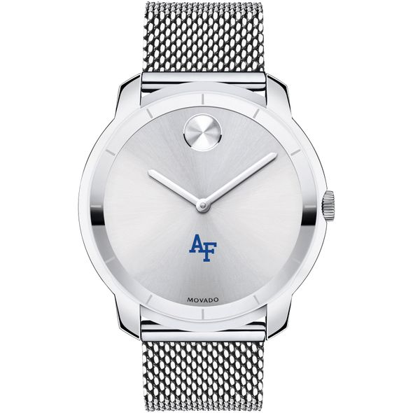 US Air Force Academy Men's Movado Stainless Bold 44 - Image 2