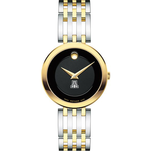 University of Arizona Women's Movado Esparanza Two-Tone Museum with Bracelet - Image 2