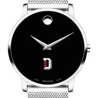 Davidson College Men's Movado Museum with Mesh Bracelet