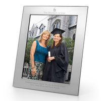 University of Iowa Polished Pewter 8x10 Picture Frame