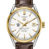 William & Mary Men's TAG Heuer Two-Tone Carrera with Strap