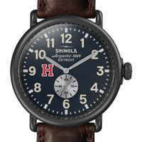Harvard Shinola Watch, The Runwell 47mm Midnight Blue Dial