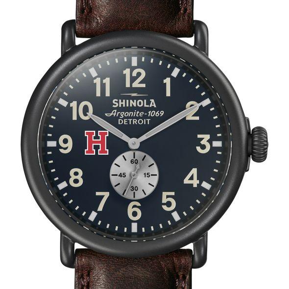 Harvard Shinola Watch, The Runwell 47mm Midnight Blue Dial