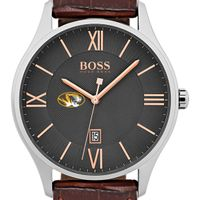 University of Missouri Men's BOSS Classic with Leather Strap from M.LaHart
