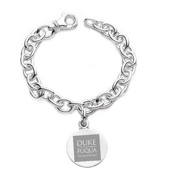 Duke Fuqua Sterling Silver Charm Bracelet - Image 1