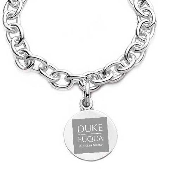 Duke Fuqua Sterling Silver Charm Bracelet - Image 2