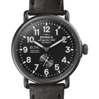 UNC Kenan-Flagler Shinola Watch, The Runwell 41mm Black Dial