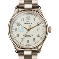 UNC Kenan-Flagler Shinola Watch, The Vinton 38mm Ivory Dial