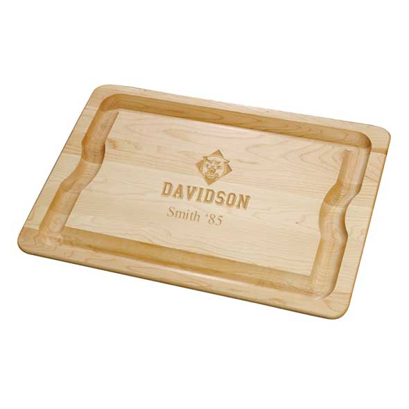 Davidson College Maple Cutting Board