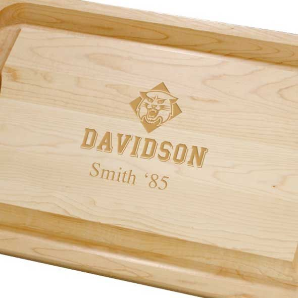 Davidson College Maple Cutting Board - Image 2