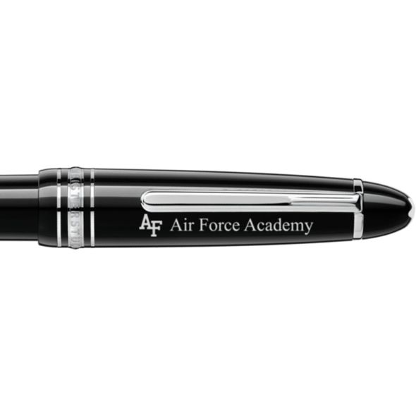 US Air Force Academy Montblanc Meisterstück LeGrand Ballpoint Pen in Platinum - Image 2