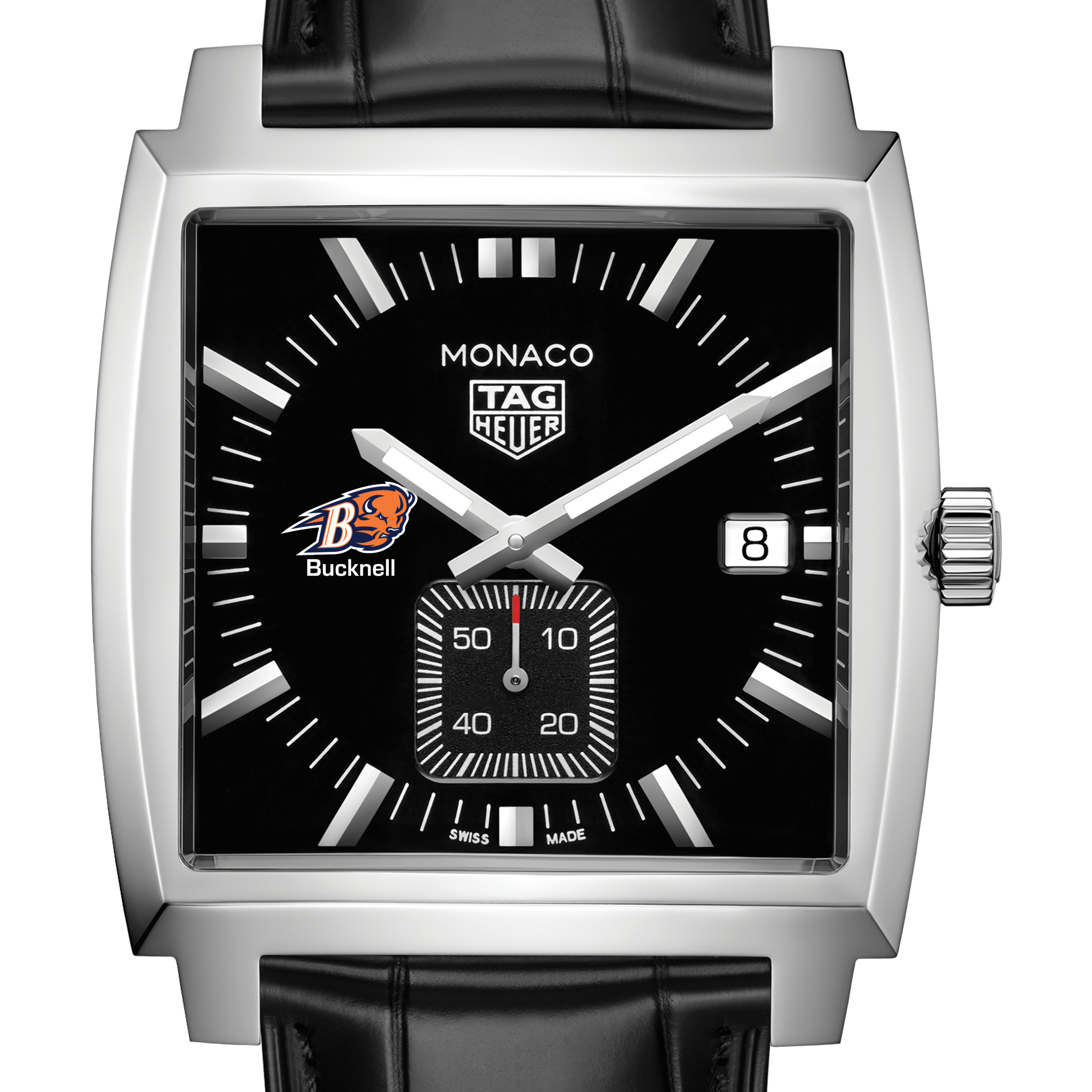 Bucknell University TAG Heuer Monaco with Quartz Movement for Men