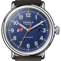 Bucknell Shinola Watch, The Runwell Automatic 45mm Royal Blue Dial