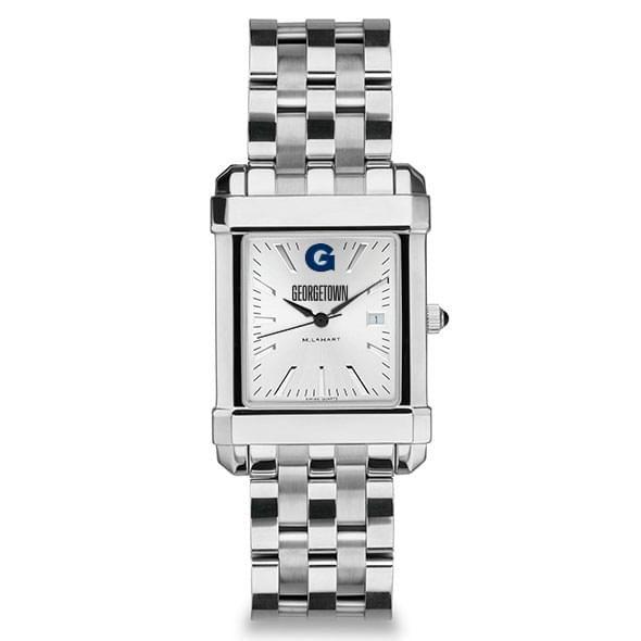 Georgetown Men's Collegiate Watch w/ Bracelet - Image 2