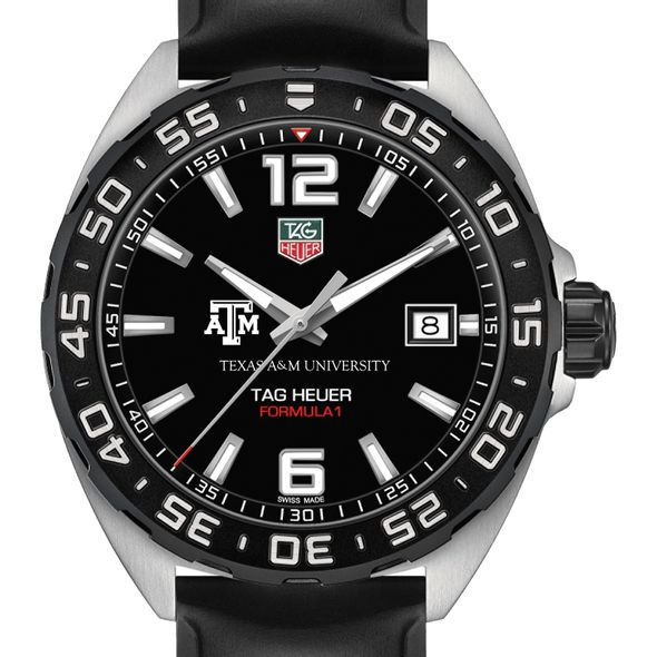 Texas A&M University Men's TAG Heuer Formula 1 with Black Dial