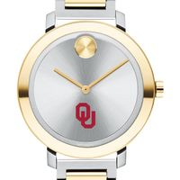 University of Oklahoma Women's Movado Two-Tone Bold 34
