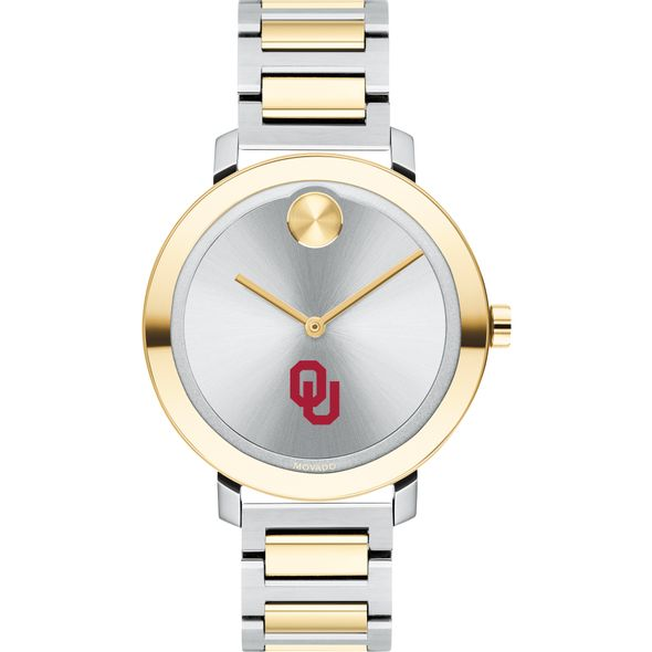 University of Oklahoma Women's Movado Two-Tone Bold 34 - Image 2