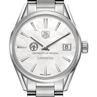 University of Virginia Women's TAG Heuer Steel Carrera with MOP Dial