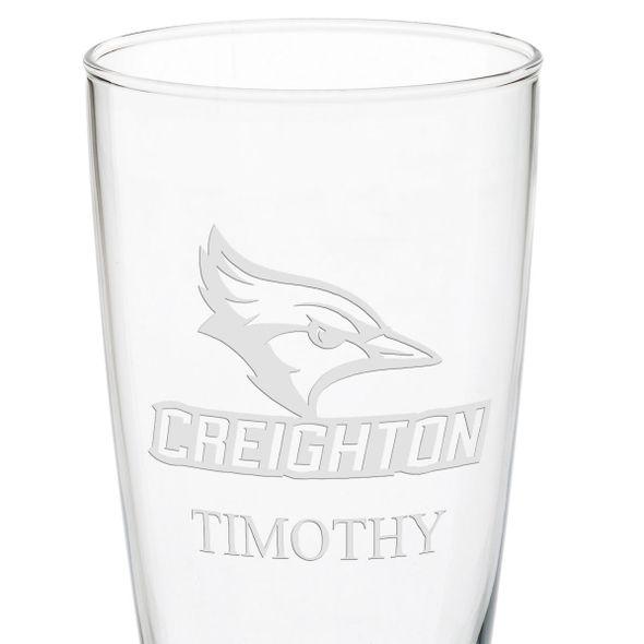 Creighton 20oz Pilsner Glasses - Set of 2 - Image 3