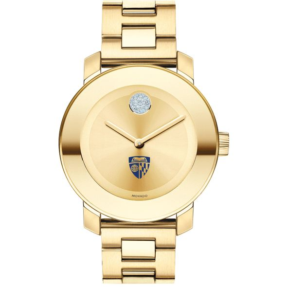 Johns Hopkins University Women's Movado Gold Bold - Image 2
