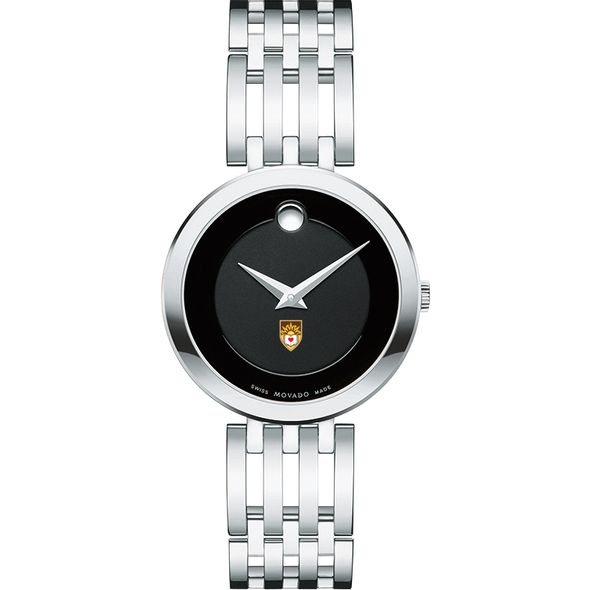 Lehigh University Women's Movado Esparanza Stainless Steel Museum with Bracelet - Image 2