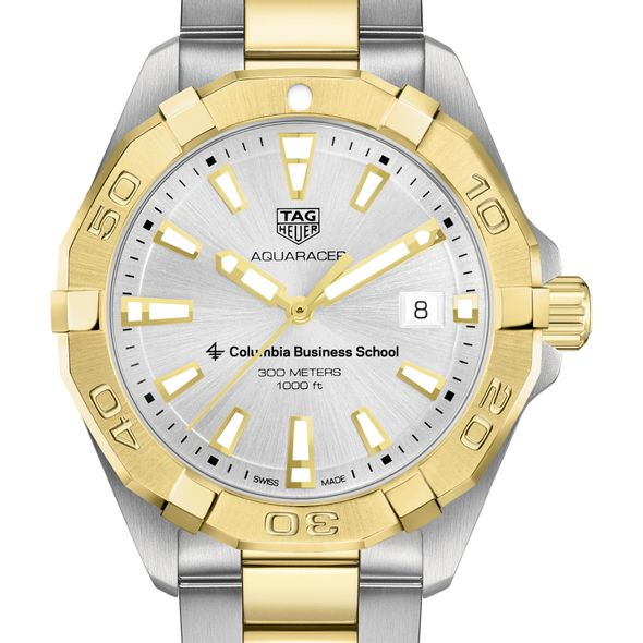 Columbia Business Men's TAG Heuer Two-Tone Aquaracer