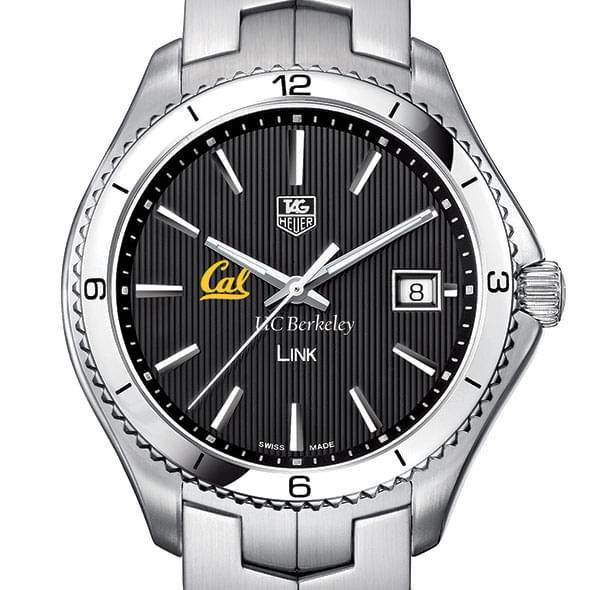 Berkeley TAG Heuer Men's Link Watch with Black Dial