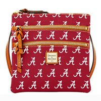 Alabama  Dooney & Bourke Triple Zip Bag