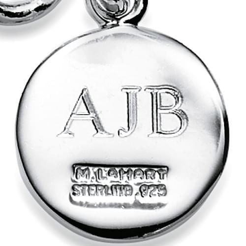 Embry-Riddle Sterling Silver Charm Bracelet - Image 3