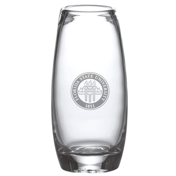 Florida State Glass Addison Vase by Simon Pearce