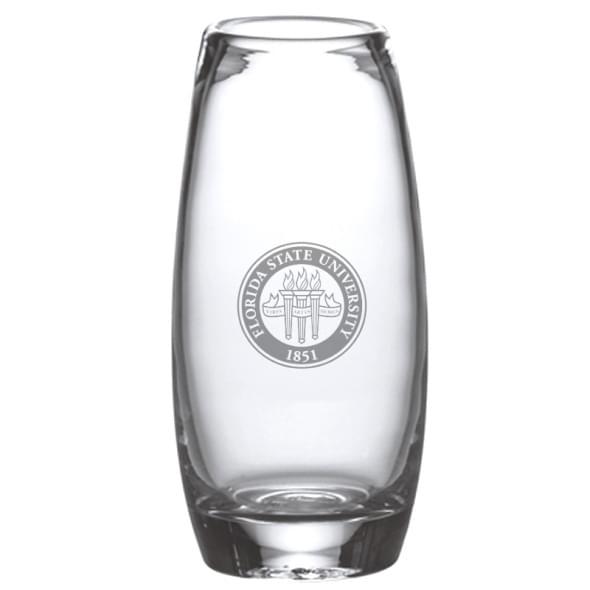 Florida State Glass Addison Vase by Simon Pearce