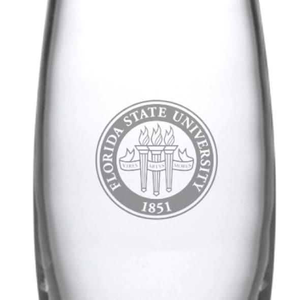 Florida State Glass Addison Vase by Simon Pearce - Image 2